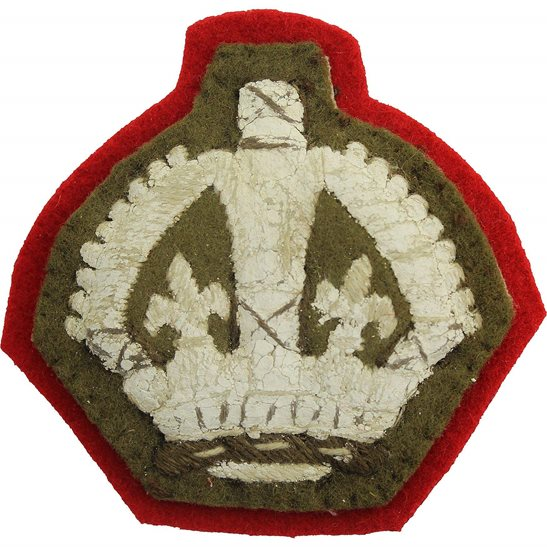 WW2 Cloth Warrant Officer 3rd Class Arm / Sleeve Insignia Badge