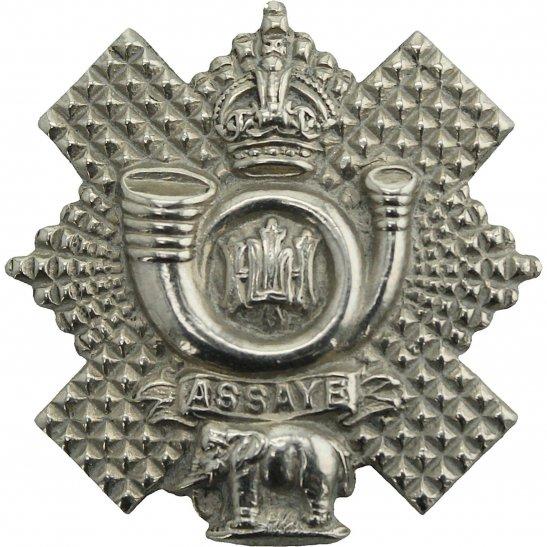 Highland Light Infantry Highland Light Infantry HLI Scottish Regiment Collar Badge
