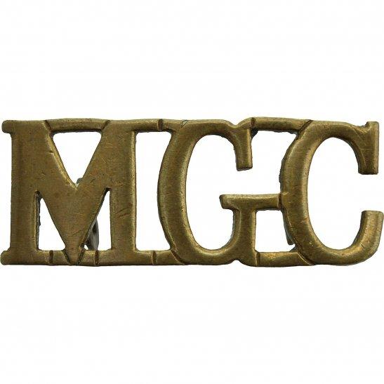 Machine Gun Corps MGC WW1 Machine Gun Corps MGC Regiment Shoulder Title