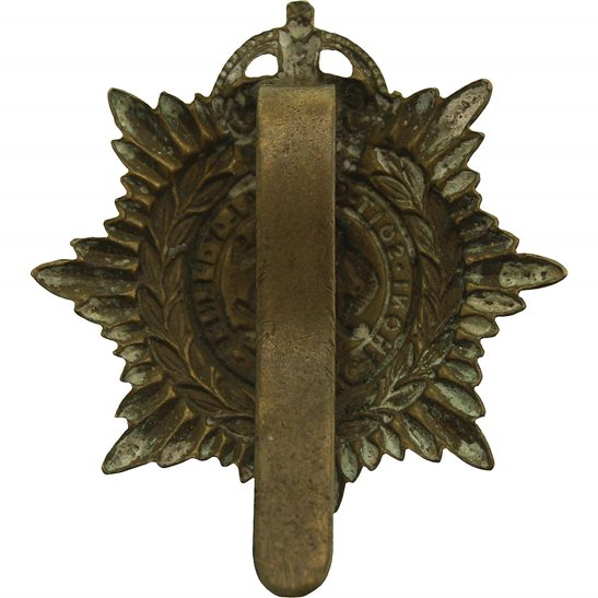 additional image for WW1 Army Service Corps ASC Non Voided ECONOMY ISSUE Cap Badge