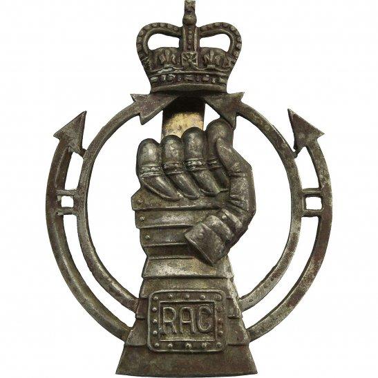 Royal Armoured Corps Royal Armoured Corps RAC Cap Badge - Queens Crown