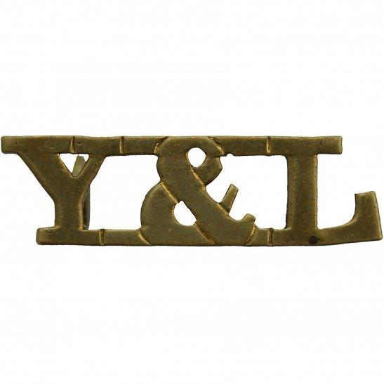 York & Lancaster York and Lancaster Y&L Regiment Shoulder Title