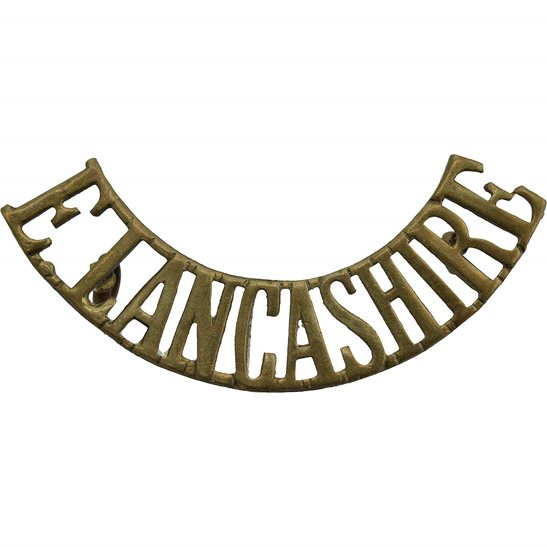 East Lancashire East Lancashire Regiment Shoulder Title