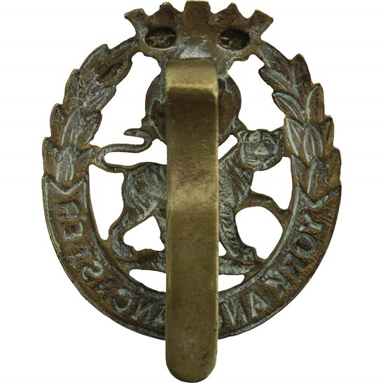 additional image for WW1 York and Lancaster Regiment Cap Badge