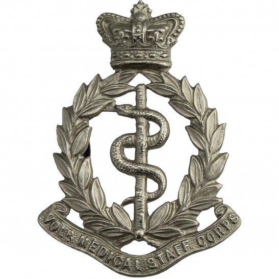 Royal Army Medical Corps RAMC VICTORIAN Volunteer Medical Staff Corps MSC Cap Badge