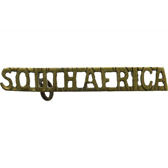 South African Army South African Army Infantry Division / Africa Corps Shoulder Title