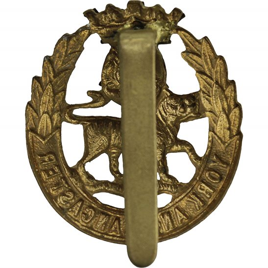additional image for WW2 York and Lancaster Regiment Cap Badge
