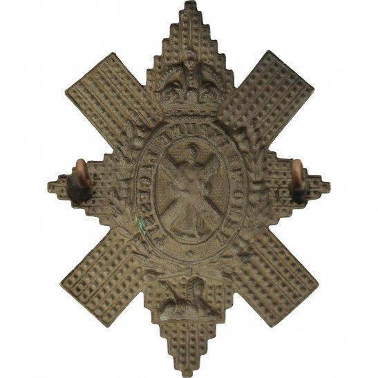 additional image for WW2 Royal Highland (Black Watch) Regiment Cap Badge