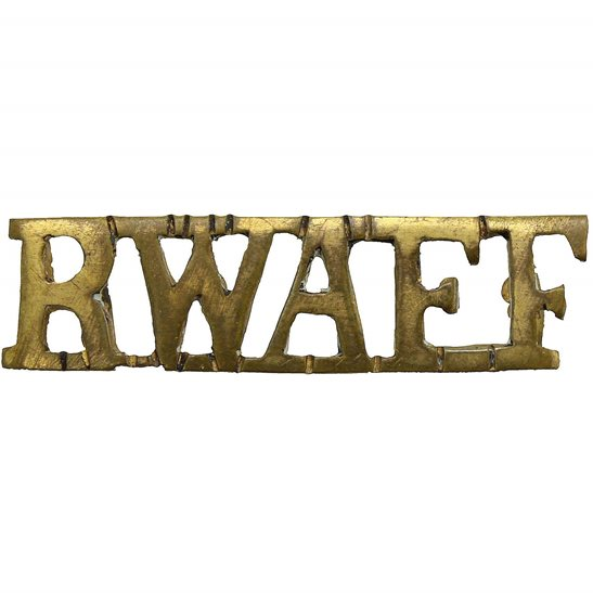 Royal West African Frontier Force RWAFF Royal West African Frontier Field Force RWAFF Shoulder Title