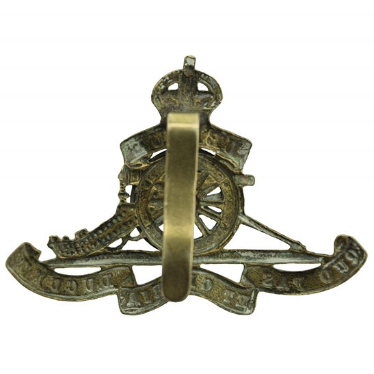 additional image for Royal Artillery Regiment MOVING / ROTATING WHEEL VERSION Cap Badge