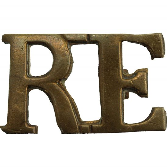 Royal Engineers WW1 Royal Engineers Corps Shoulder Title