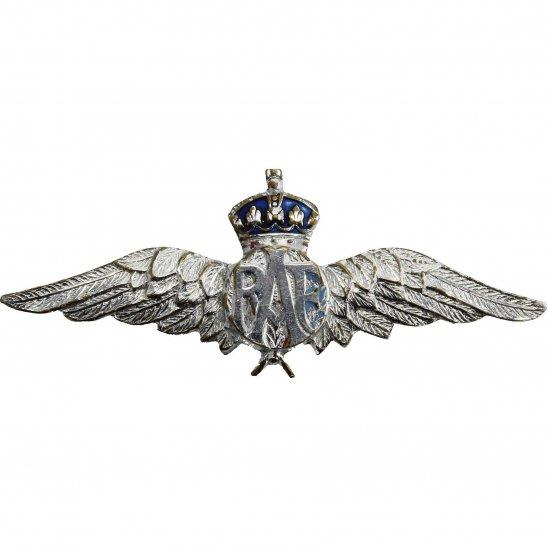 Royal Air Force RAF WW2 Royal Air Force RAF Wings Sweetheart Brooch - 42mm