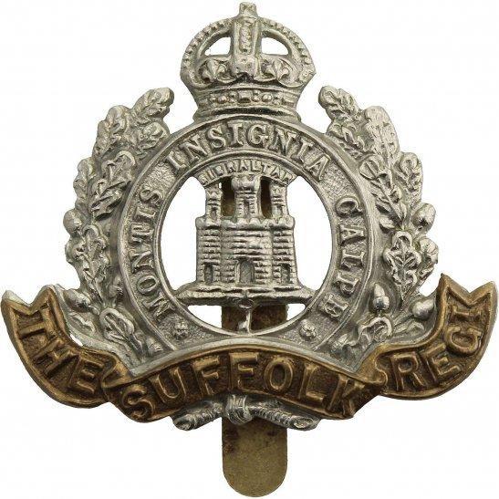 Suffolk Regiment WW2 Suffolk Regiment Cap Badge