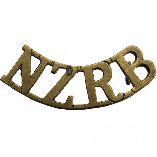 WW1 New Zealand Army New Zealand Rifle Brigade NZRB Shoulder Title