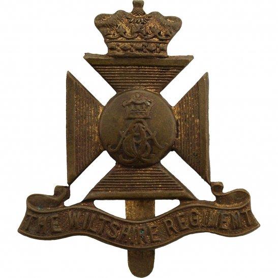 Wiltshire Regiment WW2 Wiltshire Regiment Cap Badge