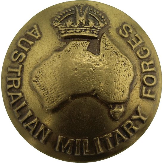WW1 Australian Army Australian Military Forces Corps Tunic Button - 26mm