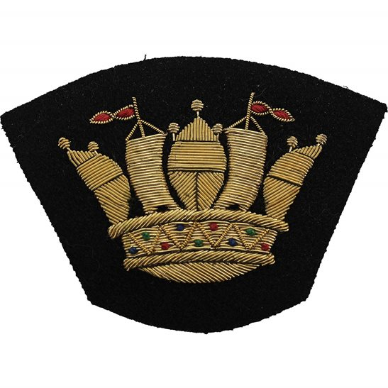Merchant Navy British Merchant Navy Cloth Veterans Blazer Badge Patch