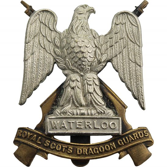 Royal Scots Dragoon Guards Royal Scots Dragoon Guards Regiment Cap Badge