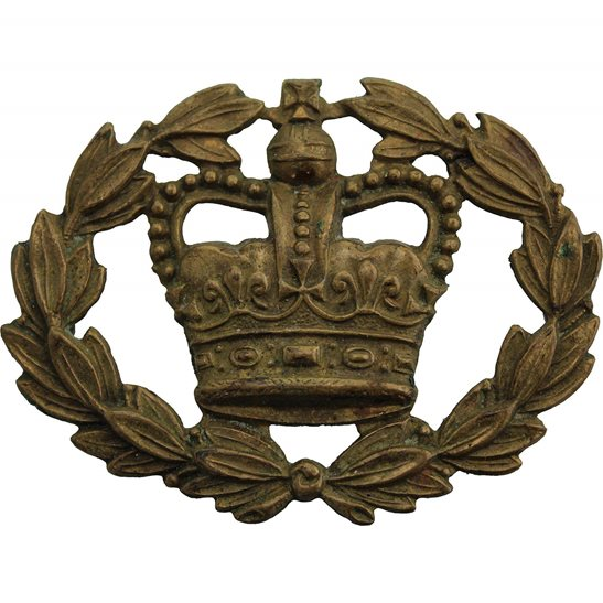 Warrant Officer Class 2 Arm / Sleeve Insignia Badge - Queens Crown