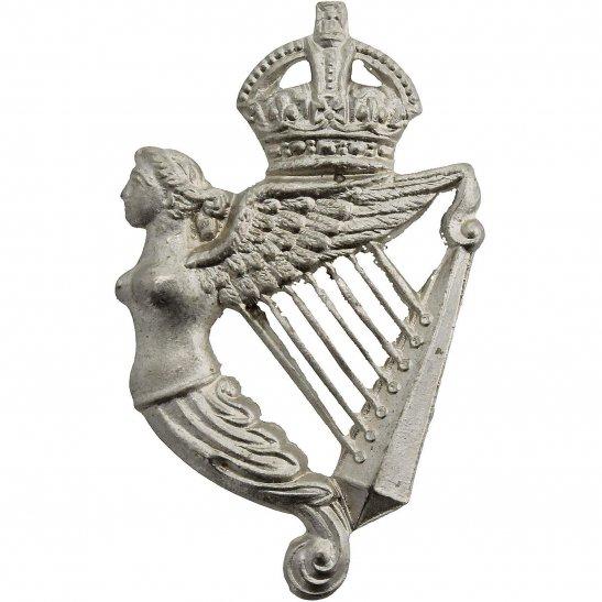 5th Royal Irish Lancers WW2 5th Royal Irish Lancers Regiment Collar Badge