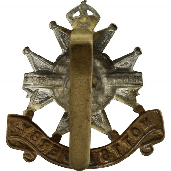 additional image for WW1 Sherwood Foresters (Notts and Derby) Regiment Cap Badge