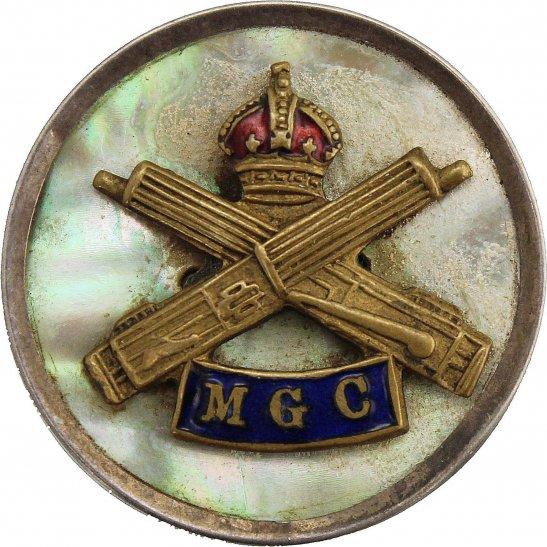Machine Gun Corps MGC WW1 Machine Gun Corps MGC Sweetheart Brooch Badge