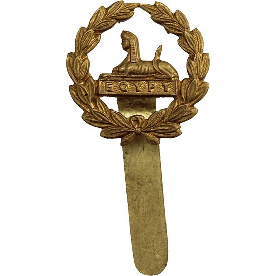 Gloucestershire Regiment WW1 Gloucestershire Regiment REAR / BACK Cap Badge