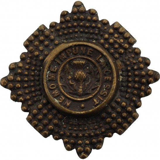 Scots Guards Scots Guards Regiment (Scottish) OFFICERS Bronze Collar Badge