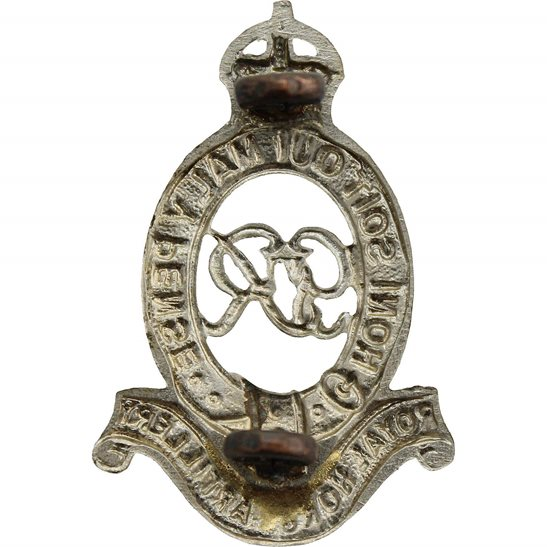 additional image for WW2 Royal Horse Artillery Regiment (George VI) RHA Cap Badge