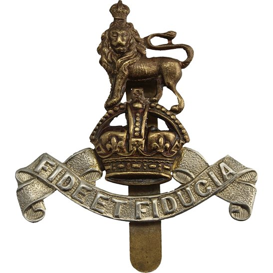 Royal Army Pay Corps RAPC WW2 Royal Army Pay Corps RAPC Cap Badge