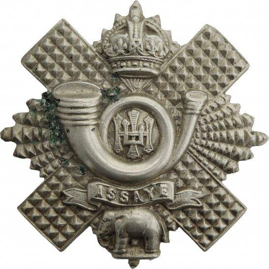 Highland Light Infantry WW1 Highland Light Infantry Regiment HLI Cap Badge