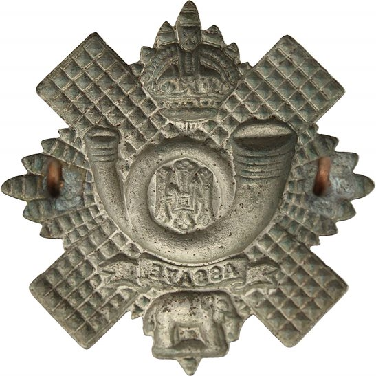 additional image for WW2 Highland Light Infantry Regiment HLI Scottish Cap Badge