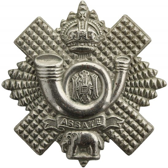 Highland Light Infantry WW2 Highland Light Infantry Regiment HLI Scottish Cap Badge