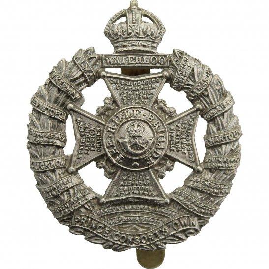 Rifle Brigade WW2 The Rifle Brigade (Prince Consort's Own) Regiment Cap Badge