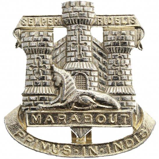 Dorset Regiment Devonshire and Dorset Staybrite Anodised Cap Badge - Staybright