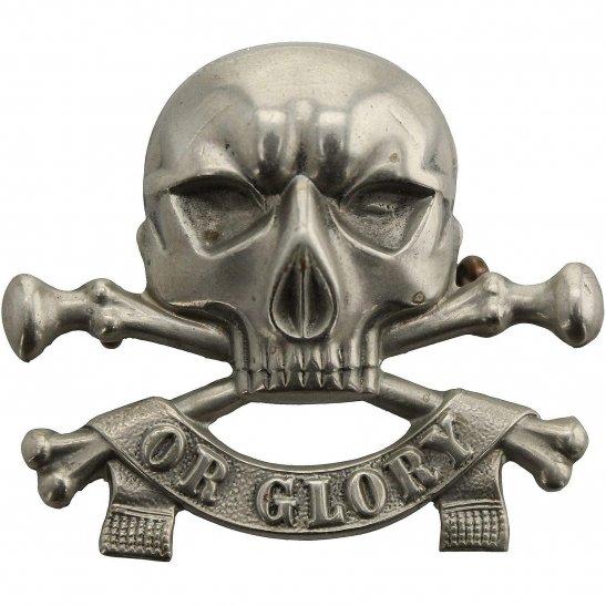 17th / 21st Lancers WW1 17th / 21st Lancers (Deaths Head) Regiment Cap Badge - LUGS VERSION