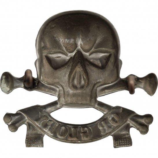 additional image for WW1 17th / 21st Lancers (Deaths Head) Regiment Cap Badge - LUGS VERSION