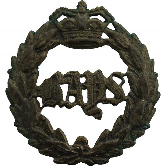 2nd Dragoon Guards VICTORIAN 2nd Dragoon Guards (Queens Bays) Regiment Collar Badge