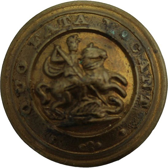 Northumberland Fusiliers Royal Northumberland Fusiliers Regiment SMALL Tunic Button - 19mm