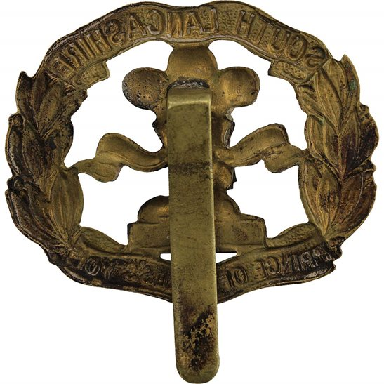 additional image for WW1 South Lancashire Regiment Cap Badge