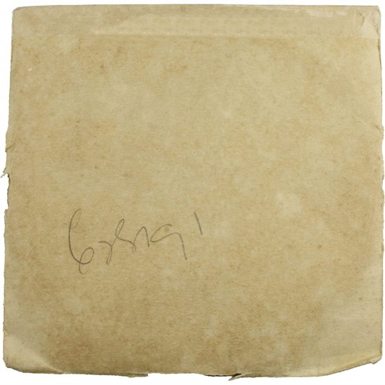 additional image for WW1 Penny / Death Plaque Inner Paper Envelope Cover