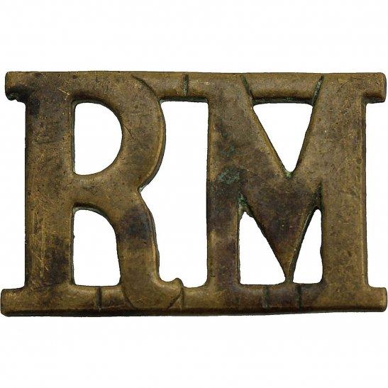 Royal Marines WW1 Royal Marines Corps RM Shoulder Title
