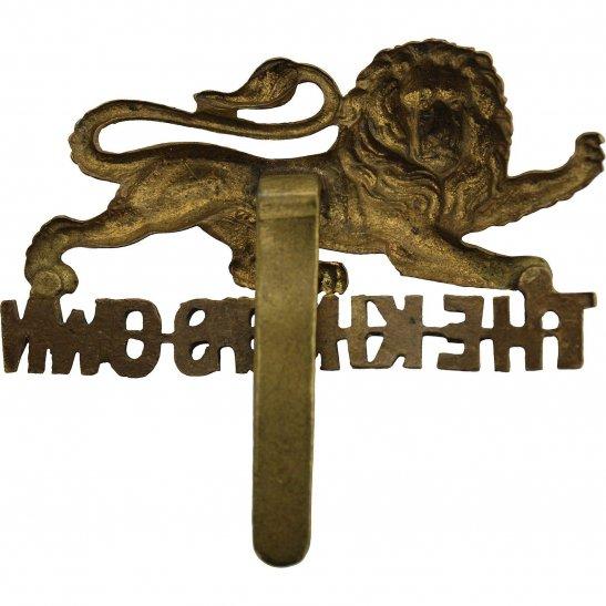 additional image for WW2 Kings Own Royal Lancaster Regiment King's Cap Badge