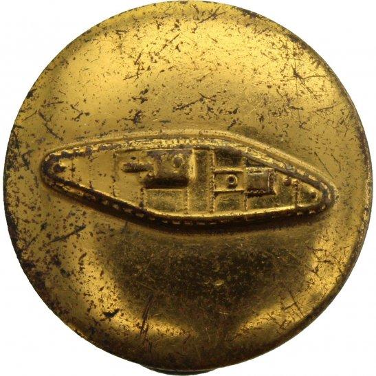 WW2 US Army WW2 United States US Army American TANK BRANCH Collar Badge  Insignia - STUD PIN BACK