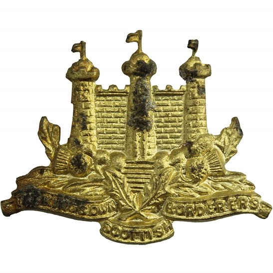 Kings Own Scottish Borderers Kings Own Scottish Borderers Regiment (King's KOSB) Collar Badge
