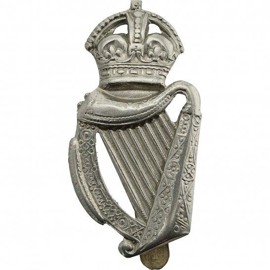 London Battalions 18th Battalion, London Irish Rifles Regiment Cap Badge