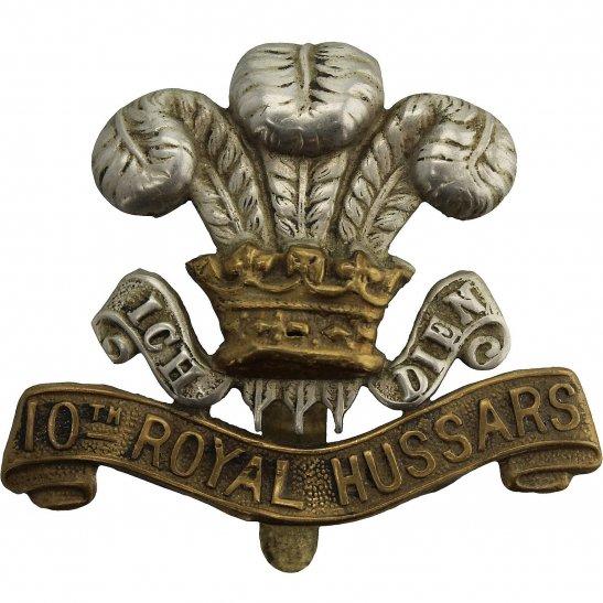 10th Royal Hussars 10th Royal Hussars Regiment Cap Badge