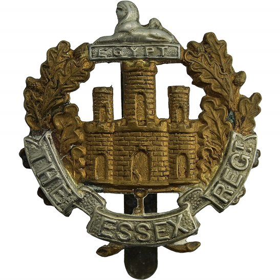 Essex Regiment WW1 Essex Regiment Cap Badge