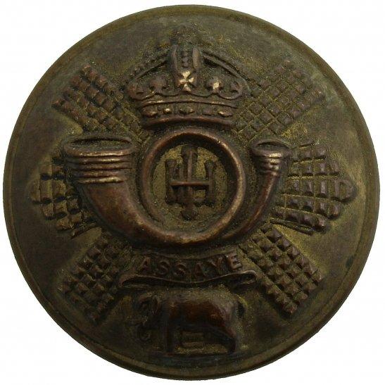 Highland Light Infantry Highland Light Infantry HLI Regiment Tunic Button - 26mm