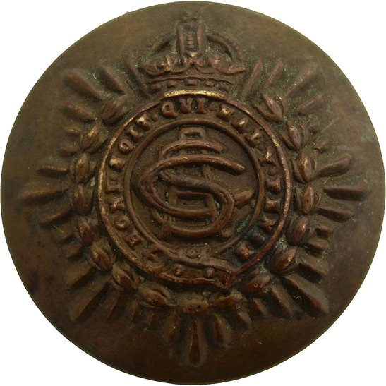 Army Service Corps ASC WW1 Army Service Corps ASC Tunic Button - 26mm